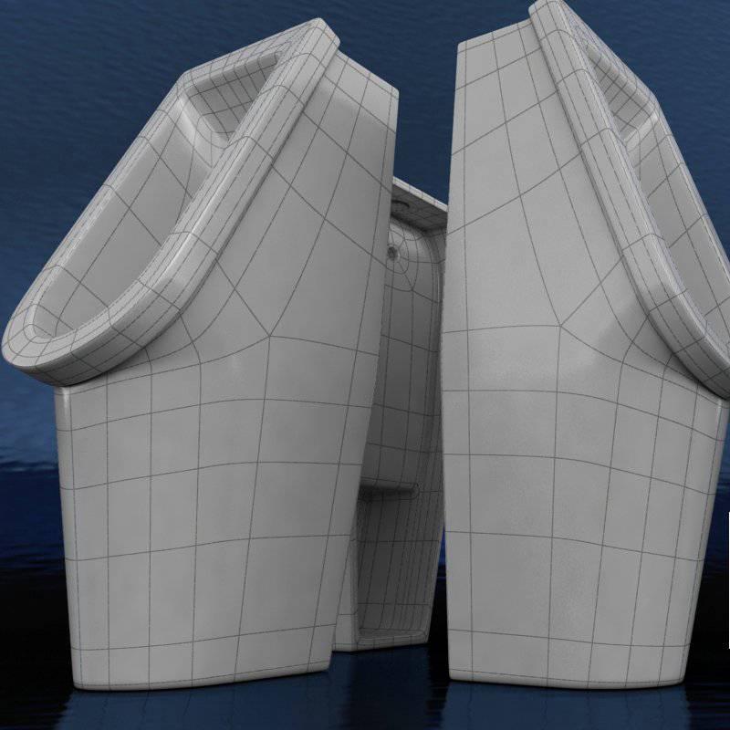 Urinal 3D Model