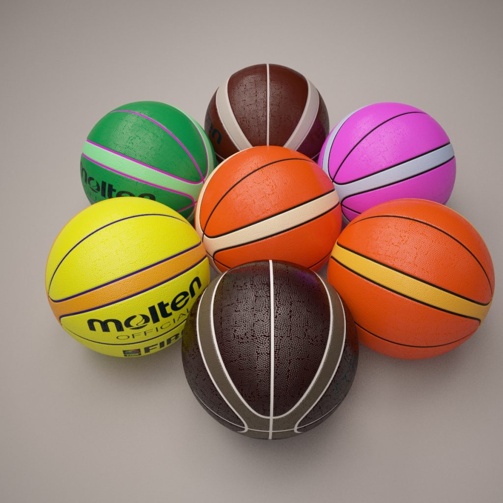 3D Molten Basketball ball - 3D Model | Kezan's Portfolio