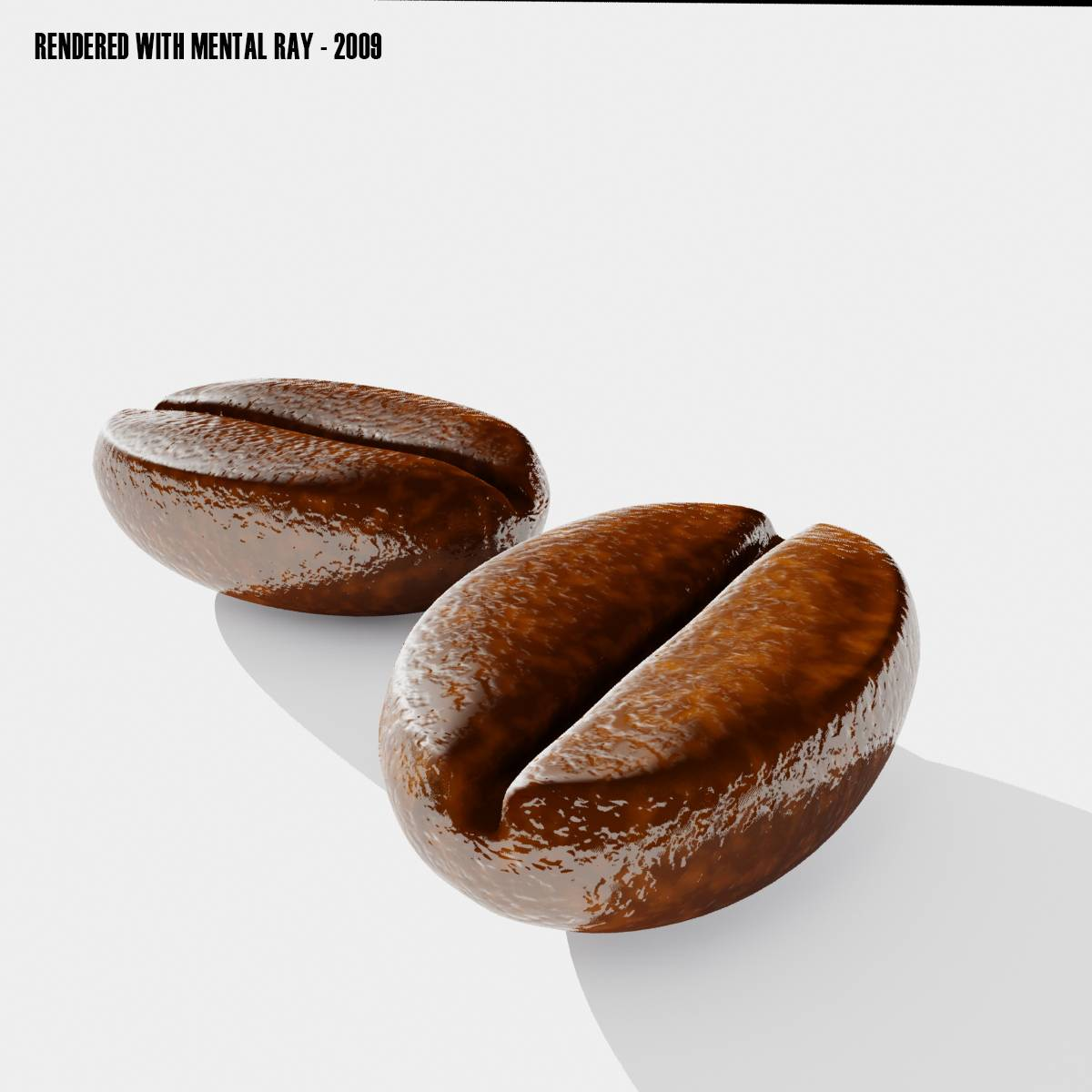 Coffee Beans 3D Model ready for download