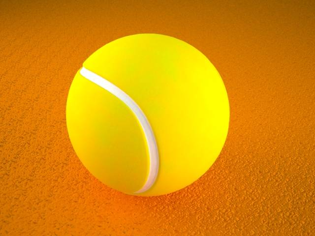 Free Tennis Ball Regular Shader