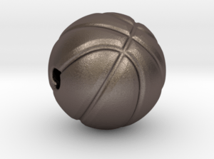 Basketball Pendant Stainless Steel