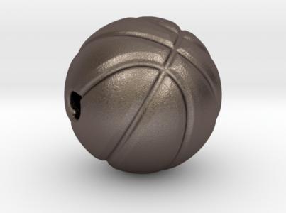 Basketball Pendant Stainless Steel