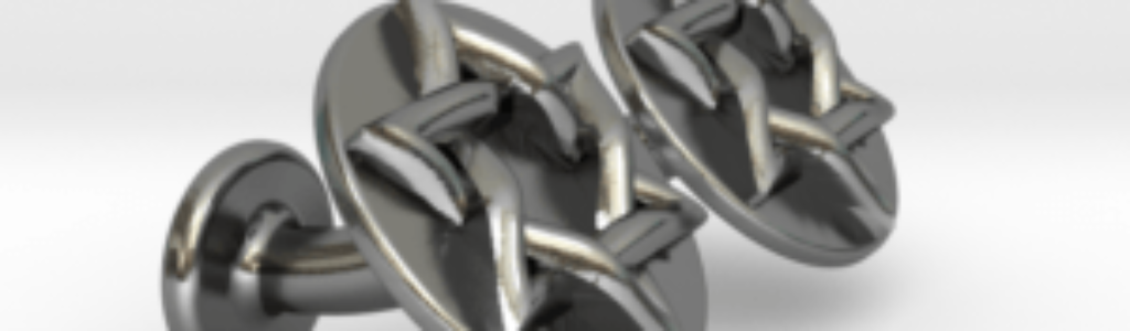 Magen David Star Cufflinks Silver ver2