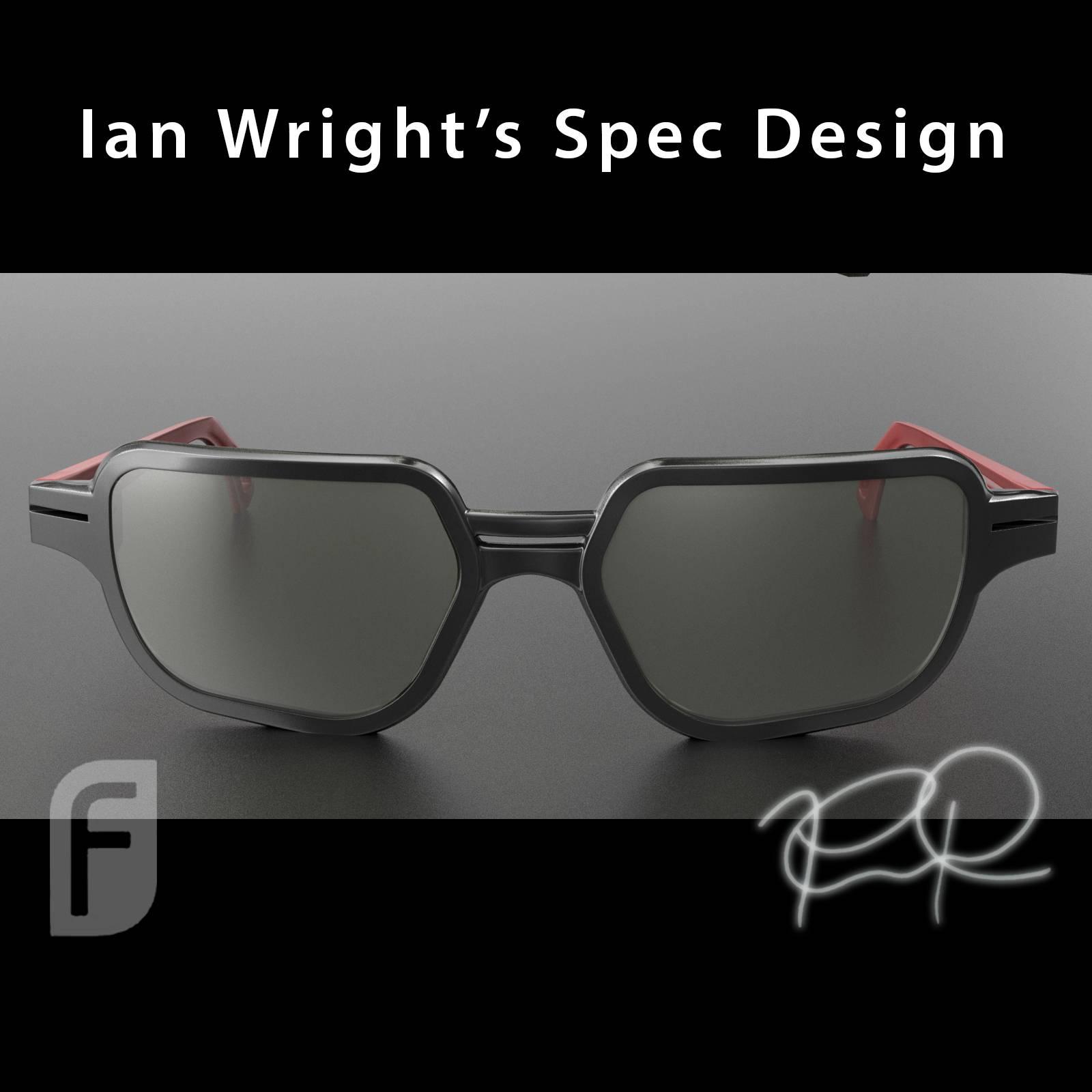 Ian Wright's Specs Front