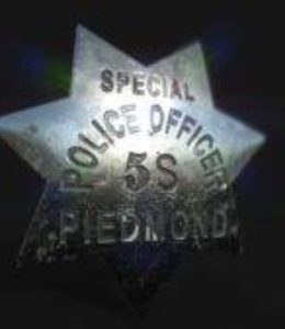 Vintage Sheriff Star (Badge)