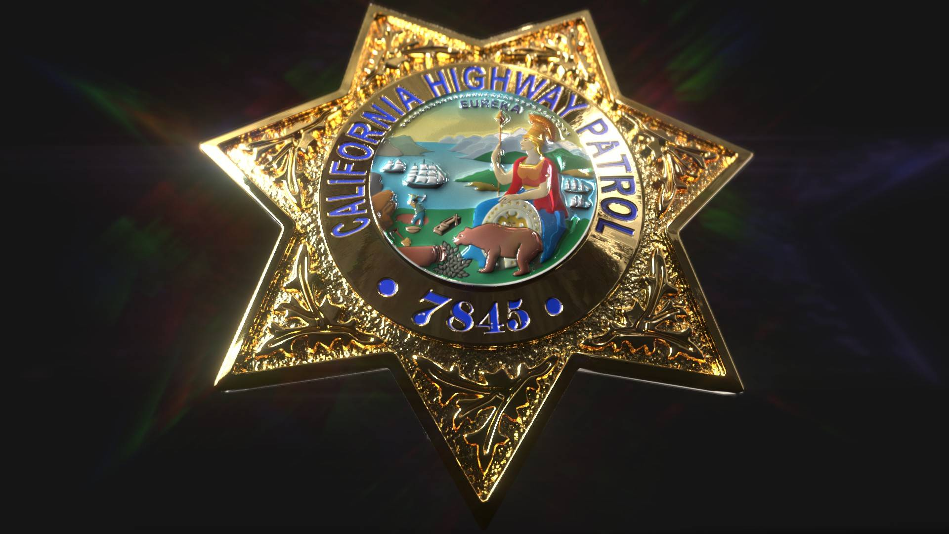 Vintage Sheriff Star (Badge)