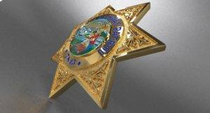 Highway Police Badge