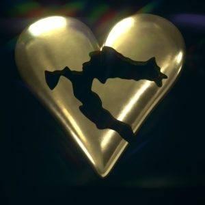 Croatia in Heart Pendant