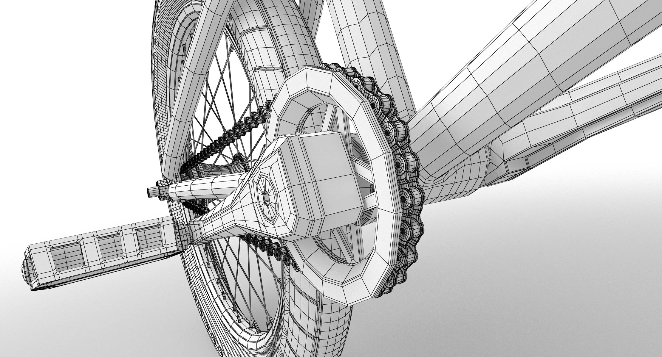 BMX (Bike) 3D Model