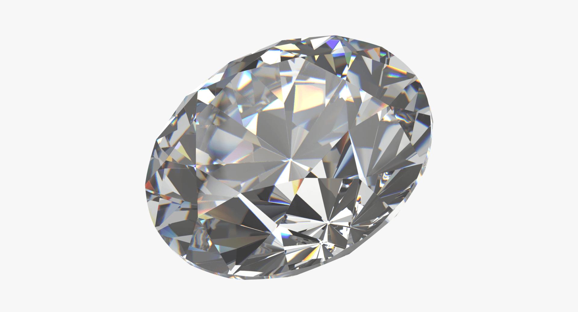 Diamond 3D Model - Brilliant Cut