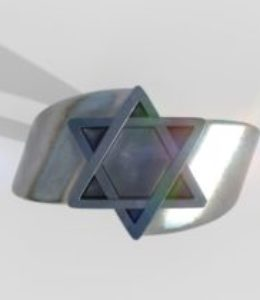 David Star Ring in Silver