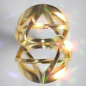 David Star Ring in Gold