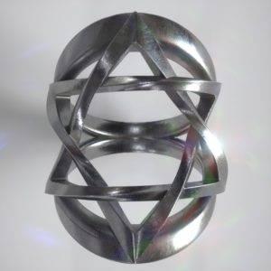 David Star Ring in Silver