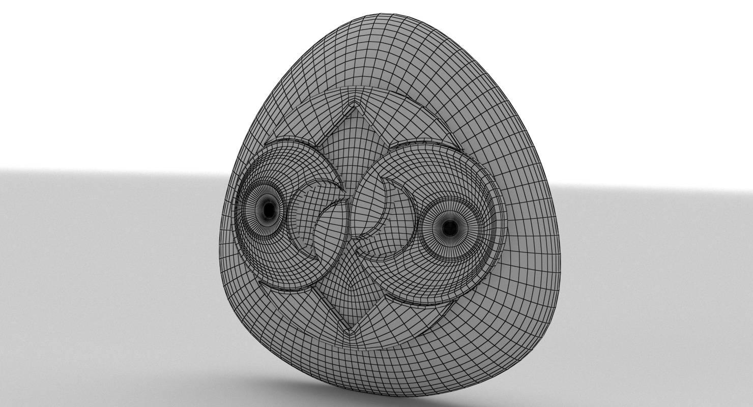 Alien Roswell Rock 3D Model